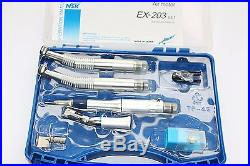 NSK Dental 2x Kavo Style High Speed Handpieces + Low Speed Latch Oral Kit 2 Hole