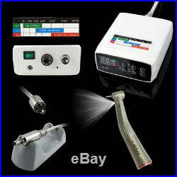NSK NL400 Dental Electric Motor + 15 LED Handpiece High Speed Contra Angle