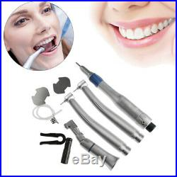 NSK Style Dental High Low Speed Handpiece 2 Holes Push Button Turbine Tool Kit