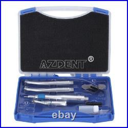 NSK Style Dental Low High Speed Handpiece Kit Push Button 2Holes B2