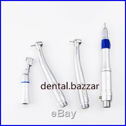 NSK Style LED Pana Max Dental Wrench Type Low High Speed Handpiece Kit 2 Hole