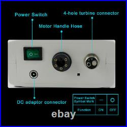NSK type LED Dental Electric Motor + High Speed 15 Handpiece Contra Angle