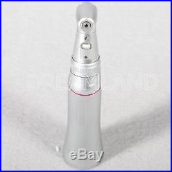 Push Inner Dental LED Increasing High Speed Handpiece 15 Optical Contra Angle