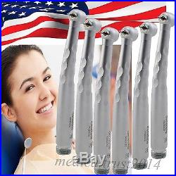 USA 6x Push large head triple 2 Hole Dental High Speed handpiece FIT NSK style