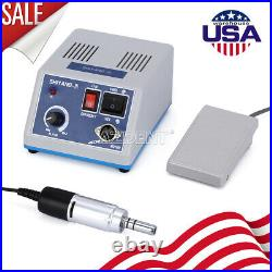 USA Dental Lab Equipment Unit Electric Micromotor N3& 35000 Rpm E-type Handpiece