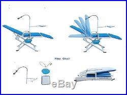 Updated Portable Dental Chair Mobile Unit + a High Low Speed Handpieces 2H Set